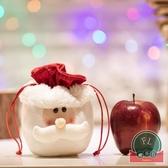 聖誕節禮物品糖果袋禮物袋平安夜蘋果袋 聖誕節裝飾【福喜行】