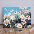 數字油畫景花卉動漫人物diy填色畫油彩裝飾畫【淘嘟嘟】