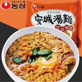 韓國 濃心 安城湯麵 125g *4包入/袋【櫻桃飾品】【26637】