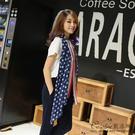 《Caroline》★ 2015韓國流行秋冬新款星星國旗巴黎纱圍巾 68000