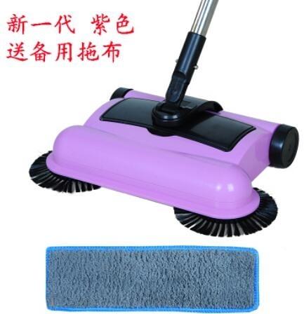 手推掃地機 升級版家用手推式掃地機懶人吸塵器拖把不用電掃地拖地一體機【快速出貨好康八折】