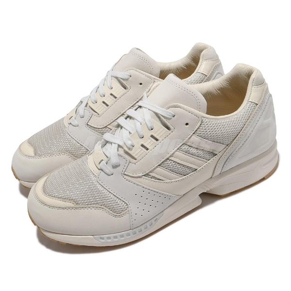 adidas 休閒鞋 ZX 8000 Qualitat 米白 灰 男鞋 愛迪達 Originals 聯名款 復古慢跑鞋 【ACS】 GY0121