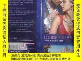 二手書博民逛書店英文原版罕見平裝 32開 【】LOUISE FULLER Vow