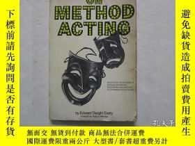 二手書博民逛書店大32開英文原版《ON罕見METHOD ACTING》(體驗派表