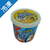小美冰淇淋-香草1L(520g)/桶【愛買冷凍】