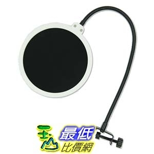 [104美國直購] Dragonpad pop filter Studio Microphone Mic Wind Screen Pop Filter Swivel 麥克風過濾器