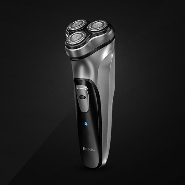 USB充電 三刀頭獨立浮動式電動刮鬍刀