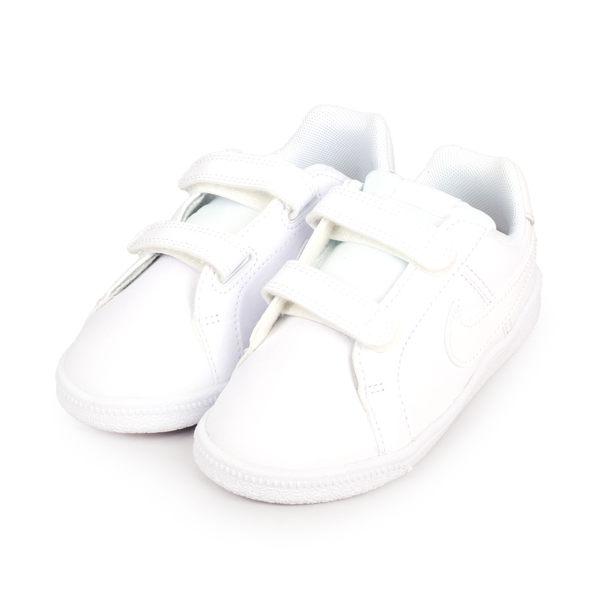 NIKE COURT ROYALE (TDV) 男女小童復古休閒鞋(魔鬼氈)(免運≡體院≡