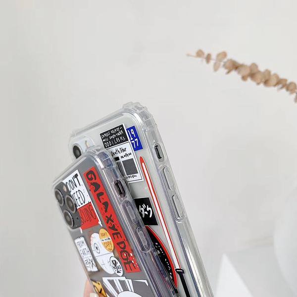 星球大戰 iPhone SE2 XS Max XR i7 i8 i6 i6s plus 透明手機殼 歐美標籤 潮牌卡通 保護殼保護套 空壓氣囊殼