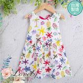 台灣製~繽紛夏日椰林果漾海世界洋裝(270681)★水娃娃時尚童裝★