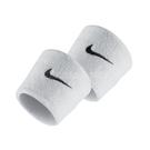 Nike 護腕 Swoosh Wristbands 白 黑 男女款 勾勾 一組兩入 球類運動 運動休閒 【ACS】 NNN0410-1OS