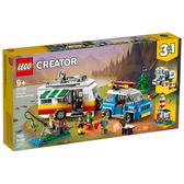LEGO 樂高 Creator 創意系列 31108 家庭假期露營車 【鯊玩具Toy Shark】