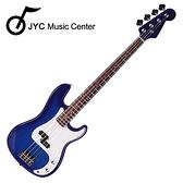 ★JYC Music★嚴選ST1入門電貝斯-鏡面藍~超值限量款附贈4好禮!!