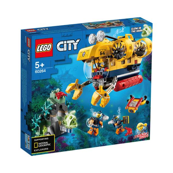 樂高Lego 60264 海洋探索潛水艇