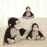 毛絨玩具 - 大猩猩毛絨玩具猴子公仔布娃娃抱枕結禮品兒童禮物【韓衣舍】