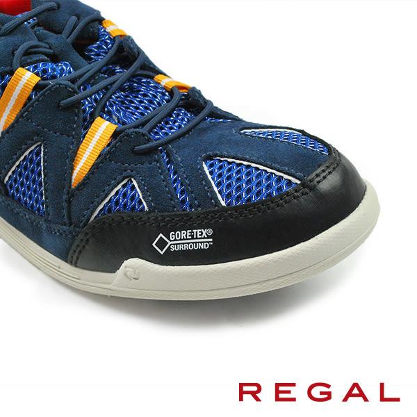 【REGAL】防水透氣超輕量運動鞋 藍色(52HR-NAVY)