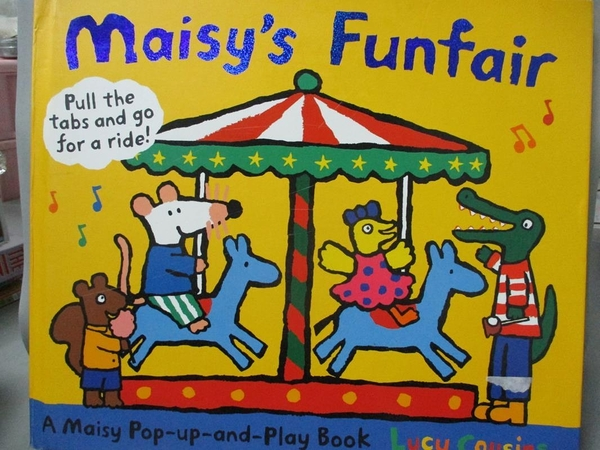 【書寶二手書T1/少年童書_WDW】Maisy's Funfair: A Maisy Pop-up-and-Play_Lucy Cousins