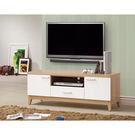 【森可家居】金詩涵4尺電視櫃 7ZX367-5 長櫃 木紋質感 日系 無印風 北歐風