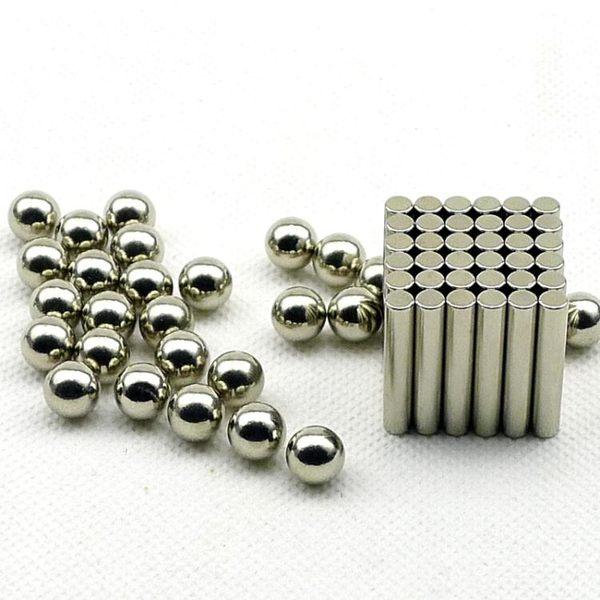 巴克球磁力棒組合套裝創意益智磁鐵拼搭積木吸鐵石玩具36棒27顆球『米菲良品』