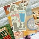 日本正版 迪士尼貼紙 瑪麗貓 裝飾貼紙 行李箱貼紙 耐水耐光材質 C款 COCOS TK091