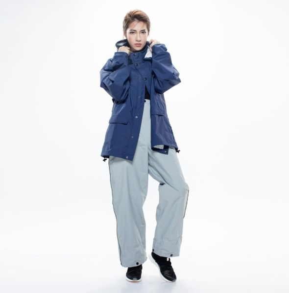 [中壢安信]MORR Expansion可收納延伸鞋套雨褲 紐約灰 鞋套可收放 後口袋可收納 斜邊反光 NE0402