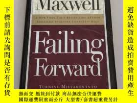 二手書博民逛書店Failing罕見Forward: Turning Mistakes into Stepping Stones f