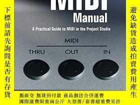 二手書博民逛書店The罕見Midi ManualY256260 David Miles Huber Focal Press