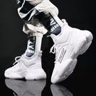 老爹鞋 2021春季新款鞋子男潮鞋運動休閒增高白鞋夏季男士小白老爹鞋【618特惠】
