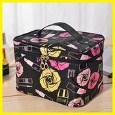 大號化妝包旅行便攜淑女化妝品收納化妝箱大容量洗漱包手提包新款