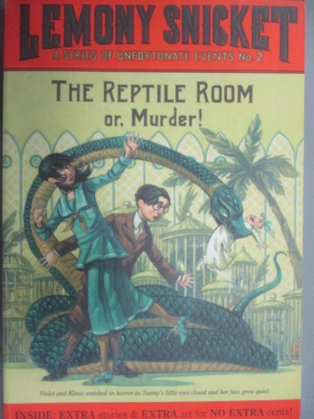 【書寶二手書T2/原文小說_IDQ】The Reptile Room_Snicket, Lemony/ Helquist