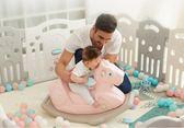 搖搖馬帶音樂兒童玩具寶寶小木馬嬰兒滑梯搖馬1-2歲塑料加厚  mks  免運 生活主義