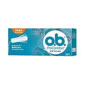 OB毆碧 衛生棉條 16入量多 / 夜安型 1盒裝