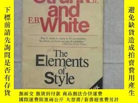 二手書博民逛書店The罕見Elements of Style, Third Ed
