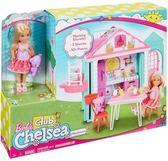芭比娃娃~Barbie 芭比 雀兒喜雙層屋