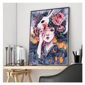 【送外框】diy數字油畫大幅填色畫手繪油彩畫裝飾畫【聚寶屋】