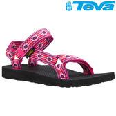 TEVA 《女款》30年經典復刻版水陸運動涼鞋Original Universal - 蒙特利莓紅
