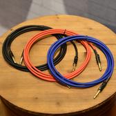 小叮噹的店 3M 導線 台灣手工製 6.3mm 單聲道 TS 單音 mono 鍍金 音源線 NYSS-63MT-3M
