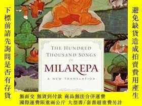 全新書博民逛書店TheHundred Thousand Songs of Milarepa: A New Translation奇