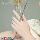 戒指女 設計感蝴蝶戒指女立體超仙食指戒韓版ins潮小眾設計時尚個性指環新品
