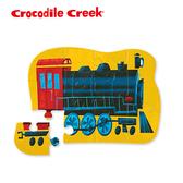 【美國 Crocodile Creek】迷你造型拼圖系列-蒸氣火車(12片)