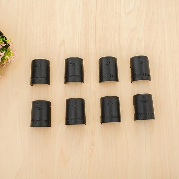 波浪架/收納架/鐵架配件【配件類】一吋管適用黑色夾片 dayneeds