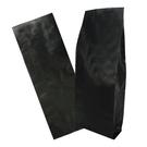 C3203東尚兩磅裝黑色霧面鋁箔公版咖啡袋(無氣閥夾邊背封袋型)=50個/箱