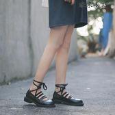 單鞋松糕娃娃鞋小皮鞋