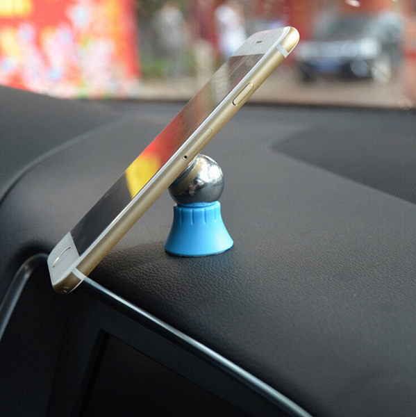 【CHENY】旋轉磁吸支架 車載手機支架 磁力車架通用型