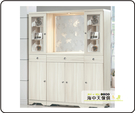 {{ 海中天休閒傢俱廣場 }} G-35 摩登時尚 玄關系列 504-3 日式和風雪杉白5.3尺雙面屏風櫃