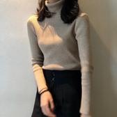 秋冬新款時尚韓版百搭顯瘦高領毛衣女外穿套頭內搭打底針織衫 韓國時尚週