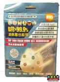 【收藏天地】台灣精碳N95 口罩 (成人-單入)