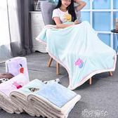 冬季珊瑚絨小毛毯加厚法蘭絨空調被子單人辦公室午睡蓋毯披肩毯子 港仔會社