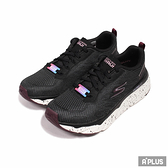 SKECHERS 女 慢跑鞋 GO RUN MAX CUSHIONING 極致避震 防滑 回彈 黑白-128269BKW