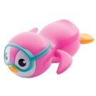 Munchkin 游泳企鵝洗澡玩具 -粉 9m+